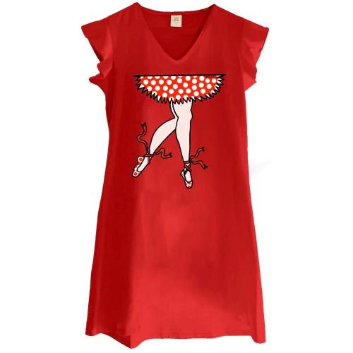 Vestido Mounamour Piernas de Bailarina