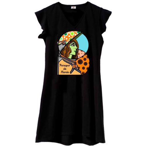 Vestido Mounamour Negro Marte (Colección Astral)