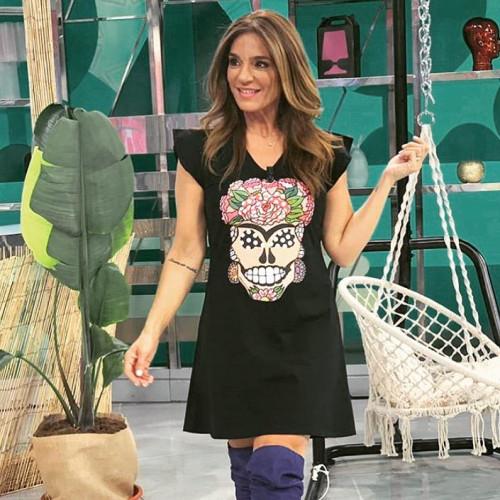 Vestido Mounamour Calavera Frida