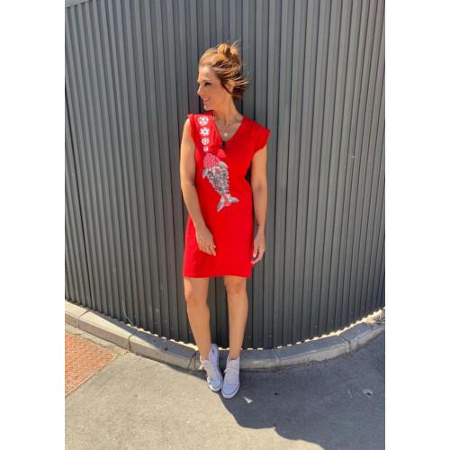 Vestido Mounamour Pez Flor