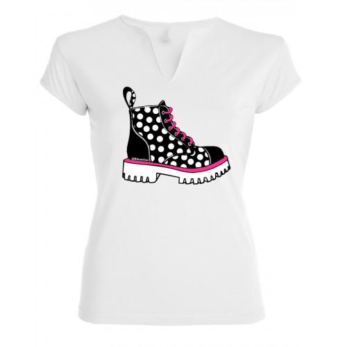 Camiseta Besos Bota Montaña