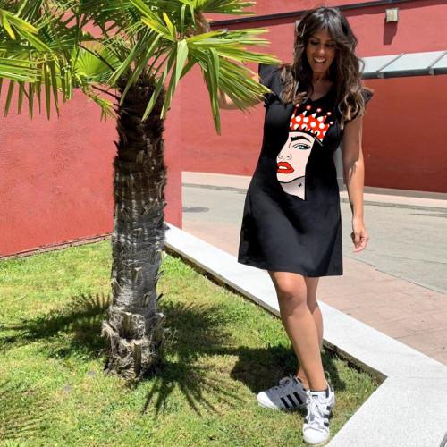 Vestido Mounamour Dama de Corazones